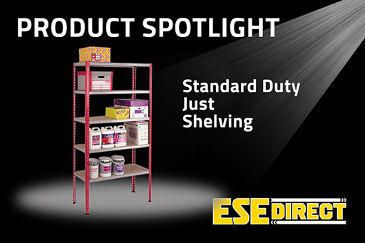 View the Standard Duty Just Shelving 1981mm high with 5 Shelf Levels video