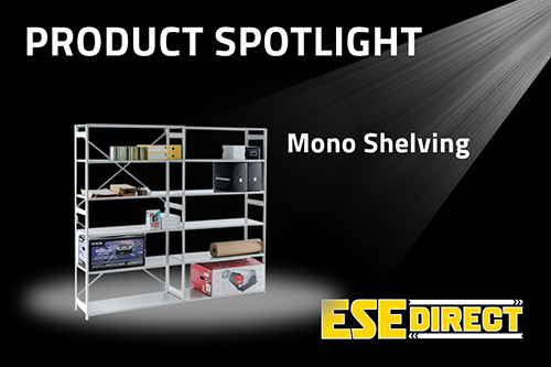 View the Mono Shelving Starter Bay with 6 or 7 Shelves video