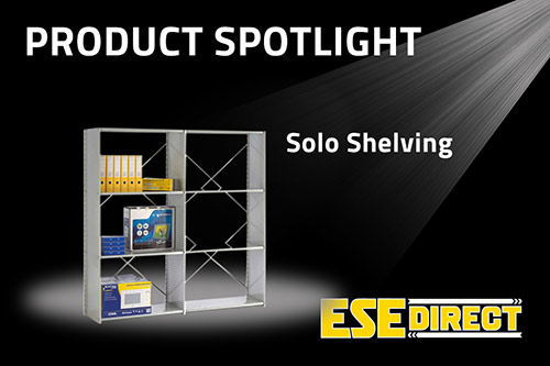 View the Open Back Solo Shelving Starter Bay with 6 Shelves video